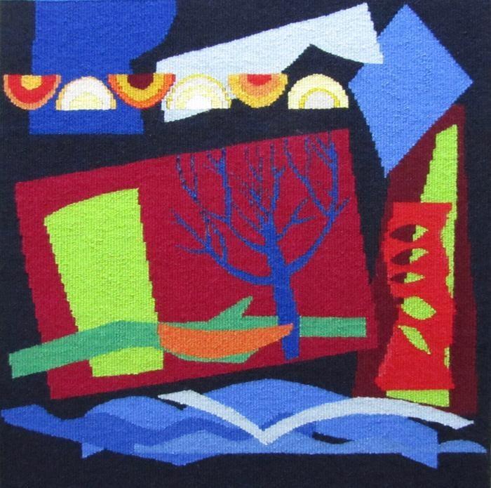 Blue Tree by Jeni Ross