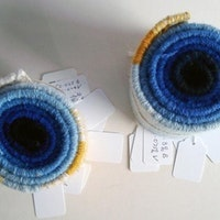 Coiled Samples off the Loom