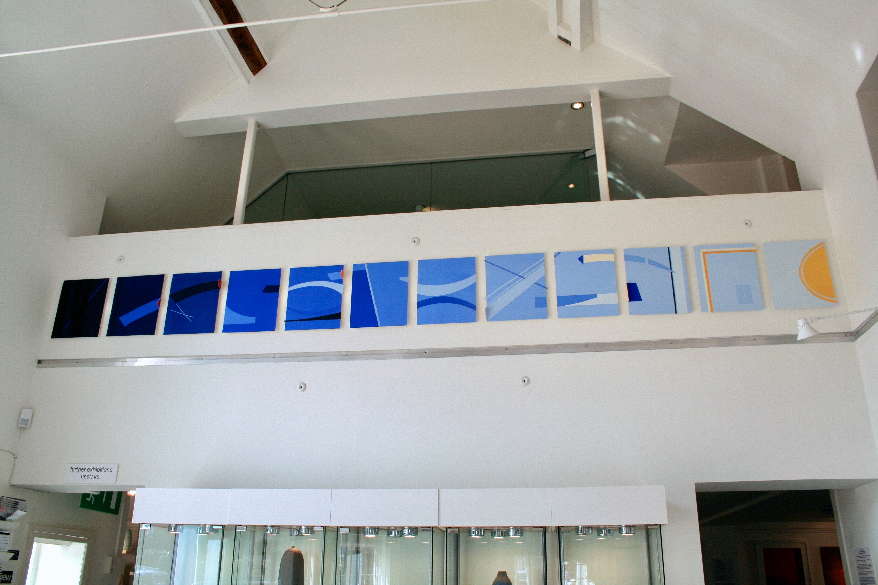 Blue Installation: New Ashgate Gallery
