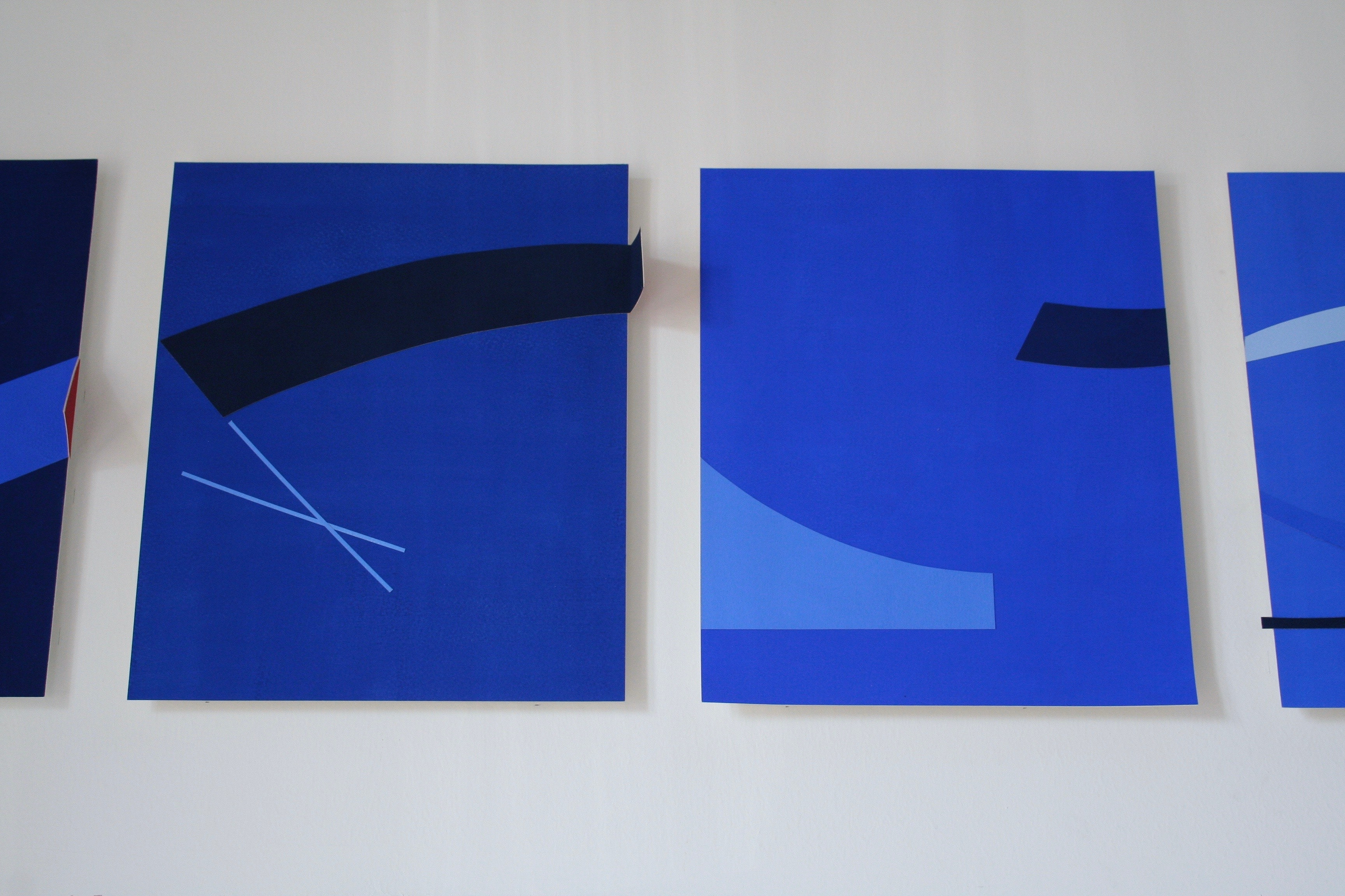 Detail: Blue Installation: New Ashgate Gallery