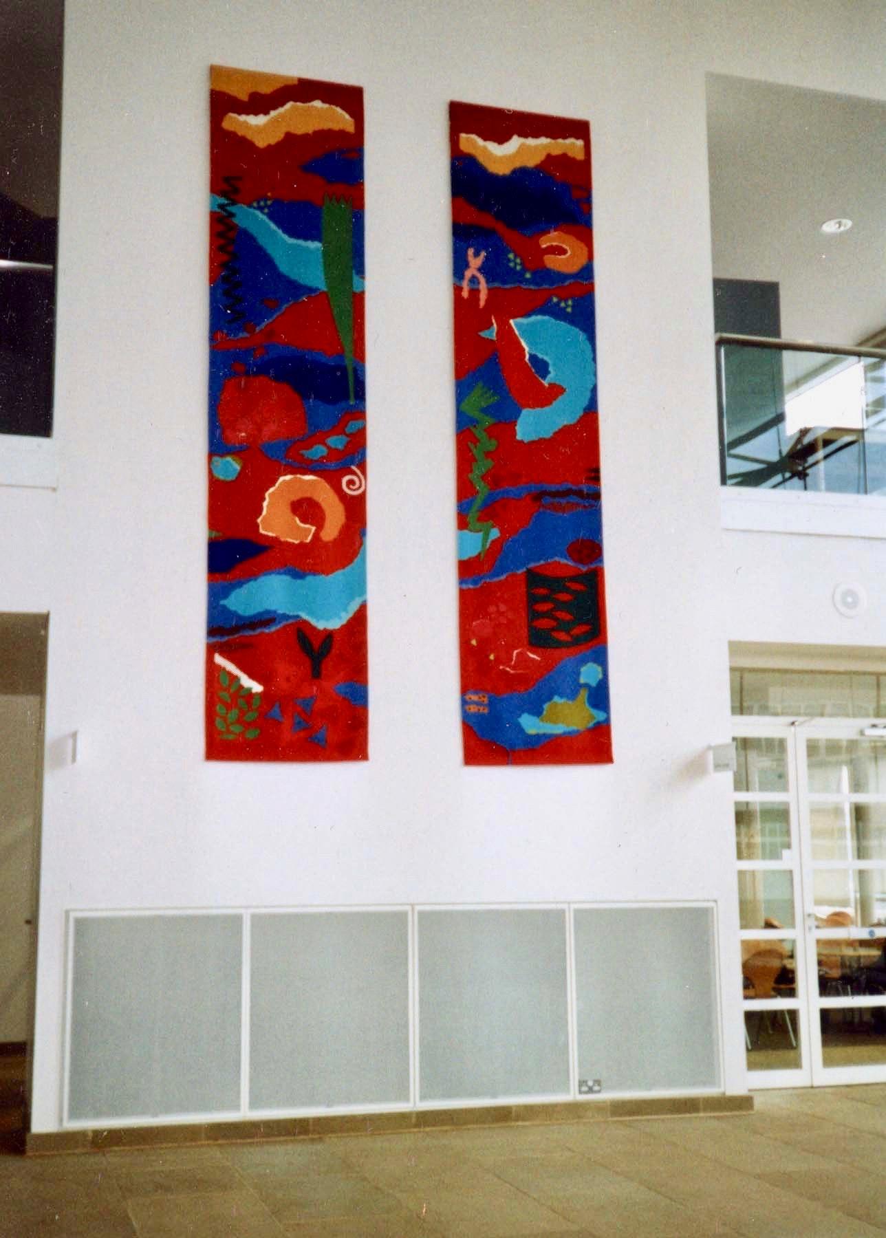 Macro-Micro Tapestry Pair: Jeni Ross
