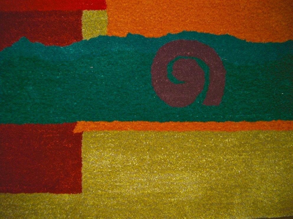 Detail: Americana Rug